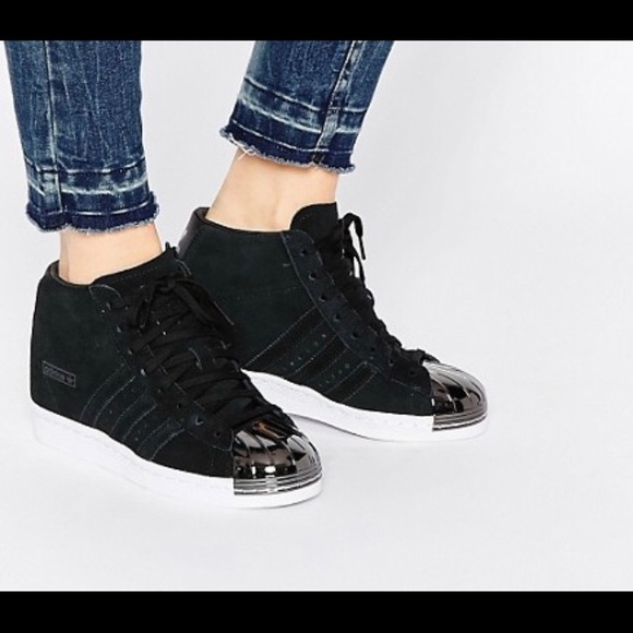 Mala suerte erosión Distinguir  adidas Shoes | Adidas Superstar Up Metal Toe Hidden Wedge Sneaker | Poshmark